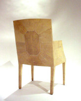 Shagreen and Ivory Armchair