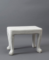 Plaster Side Table
