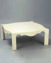 Square Lacquered Low Table