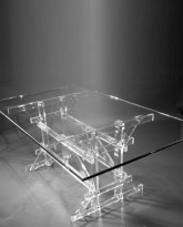 The Lucite Dining Table