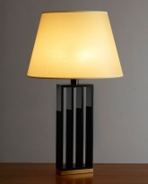 The Acrylic and Bronze Table Lamp