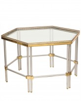 Hexagonal Low Table