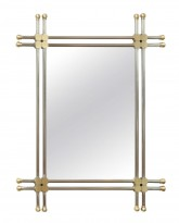 Mixed Metal Wall Mirror