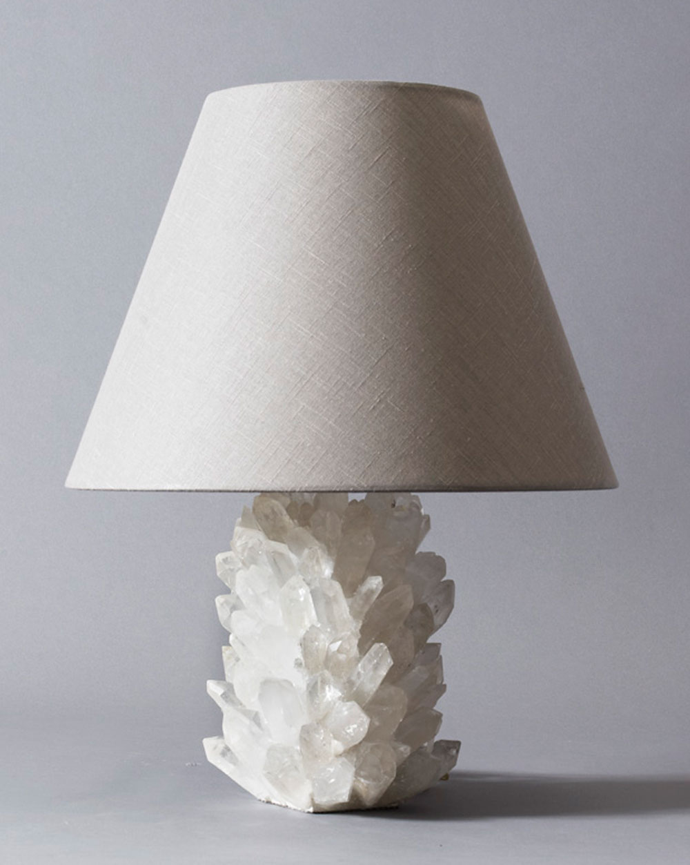 The rock crystal lamp by liz obrien editions liz obrien 8007cl 8007cl mozeypictures Gallery