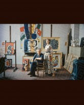 Fernand Leger with Model