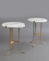 Pair of Tripod Tables
