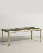 Etched and Enameled Coffee Table