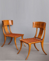 Pair of Klismos Chairs