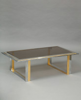 Mixed Metal Low Table