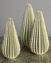 Three Cones in Desert Green