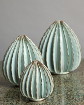 Three Pods in Frost Blue