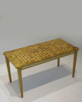 Wood Parquetry Table
