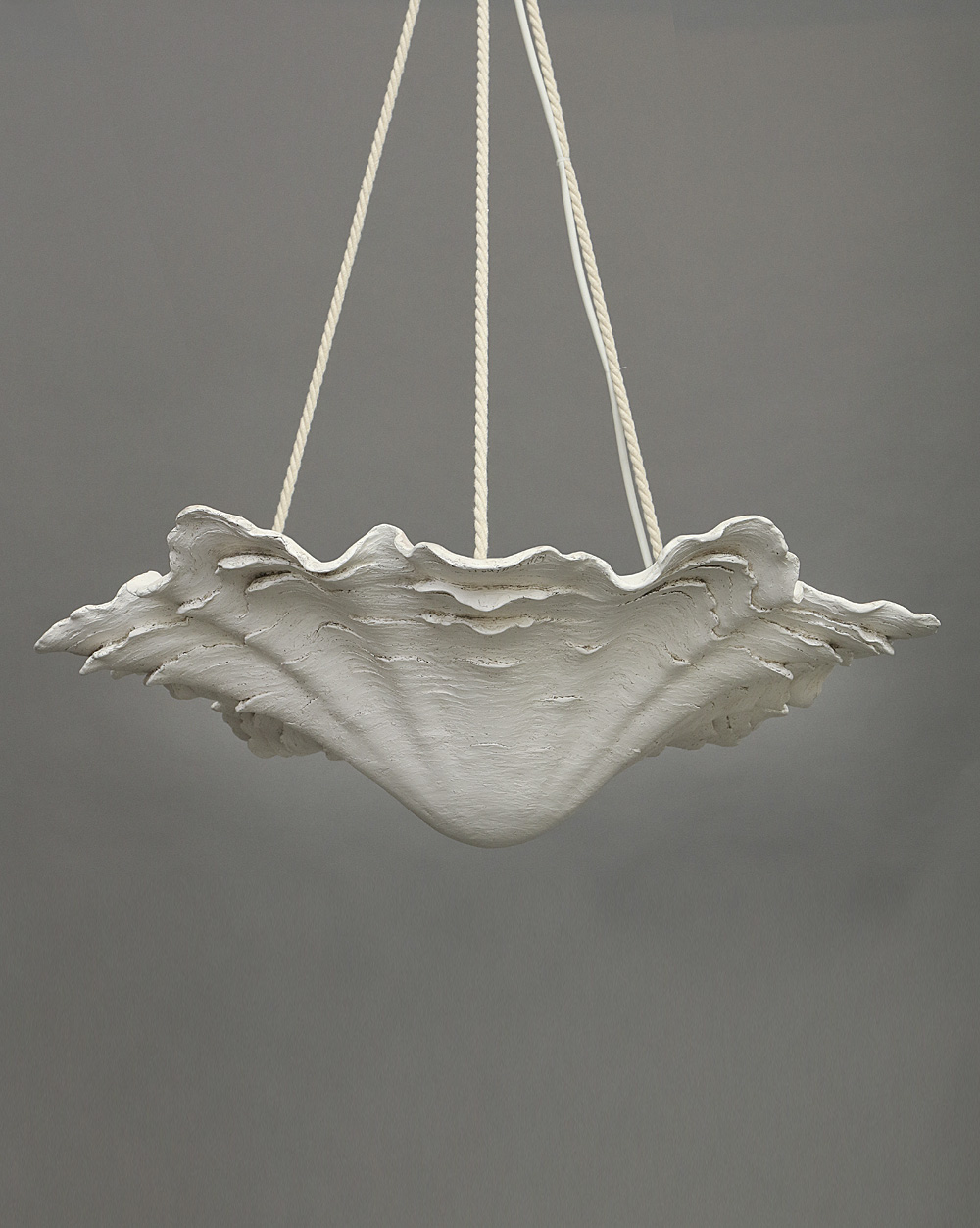 chandelier tier shell r tiered llc three project metals mended oyster