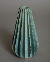 Large Cone in Glossy Green
