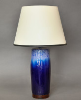 Bulldog Table Lamp in Midnight Blue