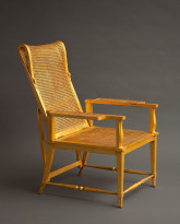 Reclining Gilded Chair