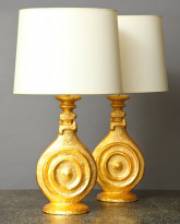 The Disque Chinois Lamp