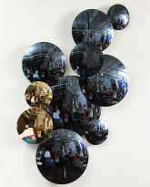 The Convex Mirrored Disk Wall Installation