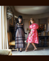 Two Models in Helena Rubenstein's Parisian Apartment